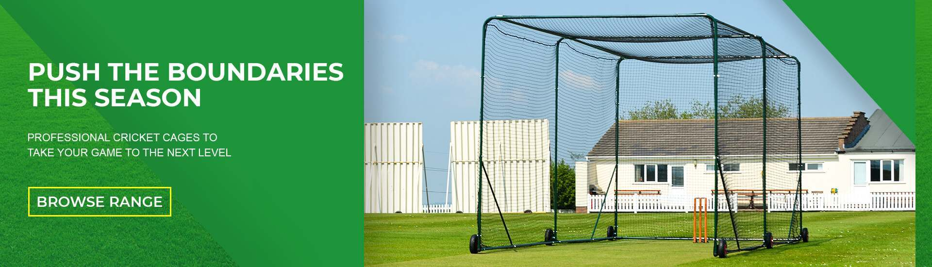 Professional Cricket Cages